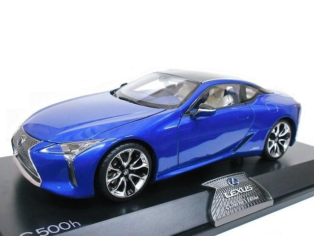 LEXUS特注 1/18 レクサス LC 500h (ストラクチュラルブルー) 特別仕様車 2018