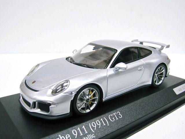 ar.tima特注 1/43 ポルシェ911 991 GT3 (シルバー) 世界限定200台