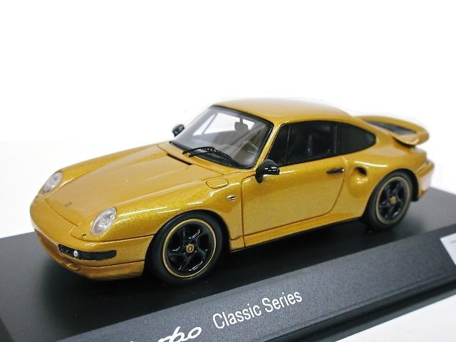 PORSCHE特注 1/43 ポルシェ911 Turbo (ゴールド) 993型 The Porsche Classic Gold