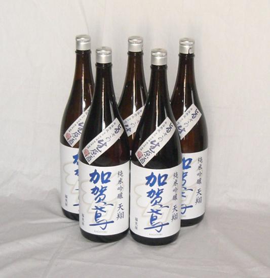 日本酒 純米吟醸 加賀鳶天翔 生原酒1800ml×5本