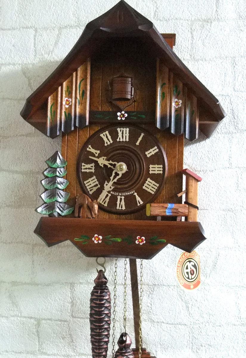 アルトン・シュナイダー製カッコー時計(はと時計)8063/10W 1日巻モデル カッコー時計 鳩時計 ハト時計 掛け時計