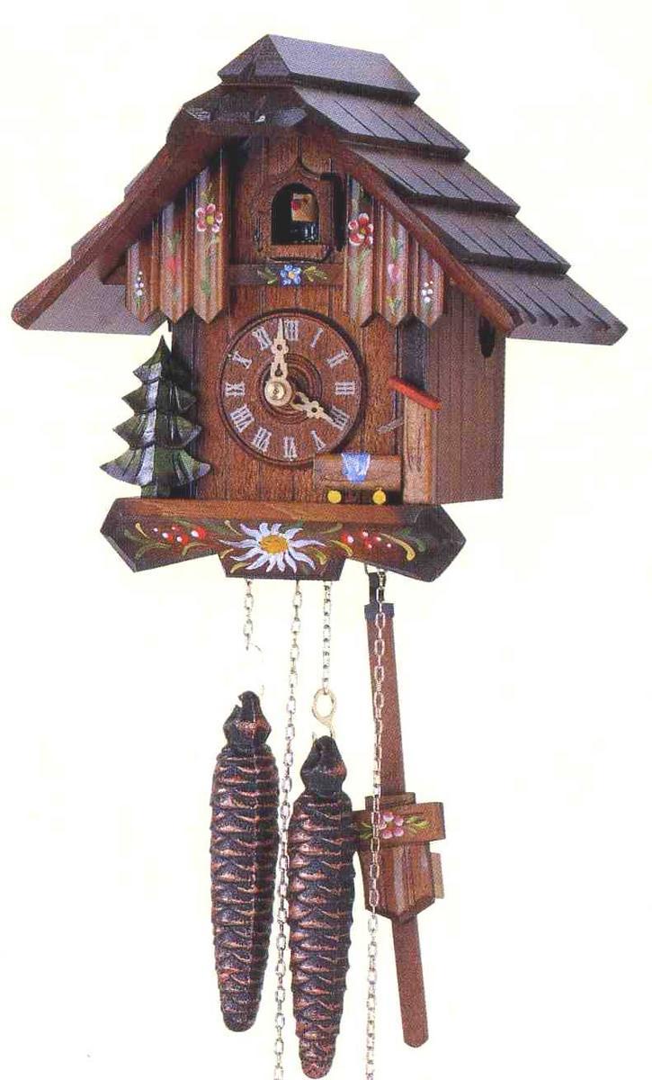 アルトン・シュナイダー製カッコー時計(はと時計)63/10 1日巻モデル カッコー時計 鳩時計 ハト時計 掛け時計