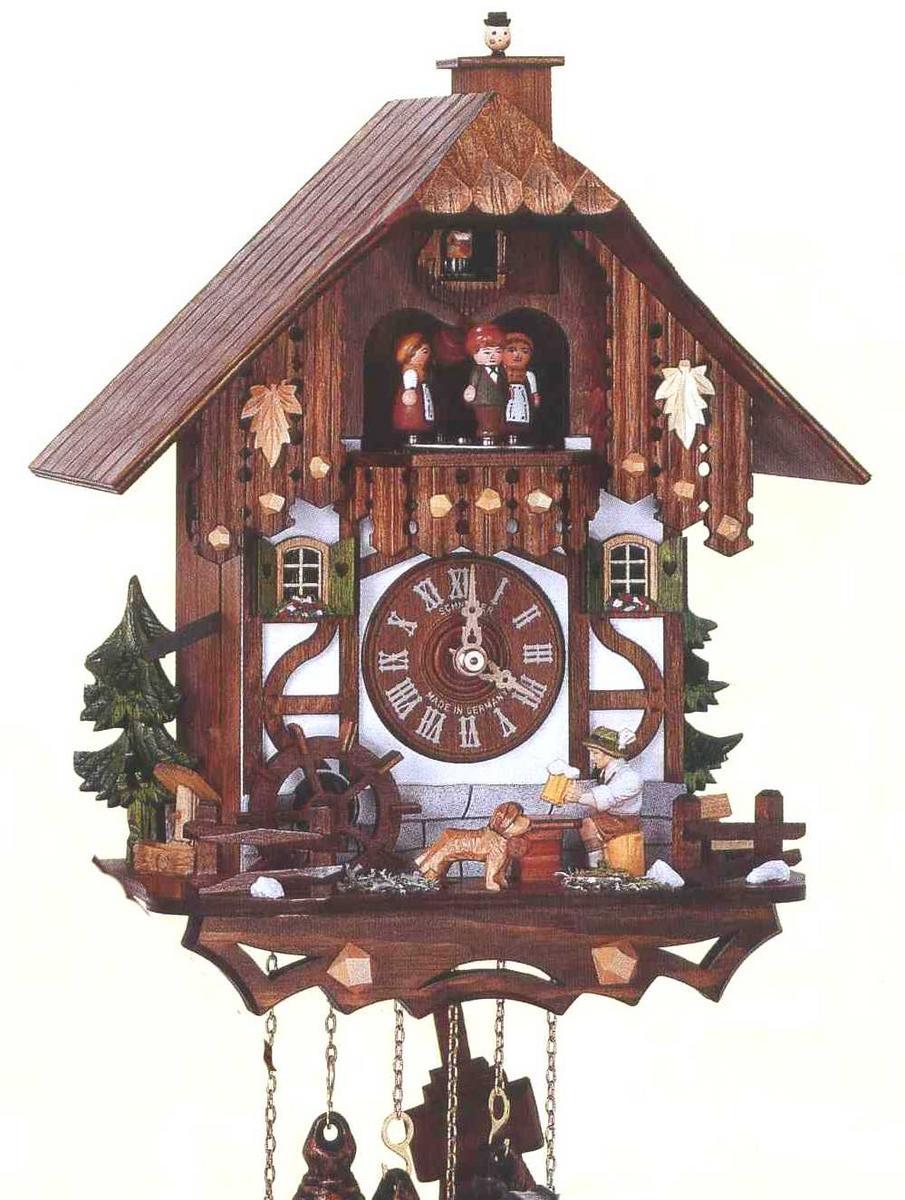 アルトン・シュナイダー製カッコー時計(はと時計)MT6564/9W 1日巻モデル カッコー時計 鳩時計 ハト時計 掛け時計