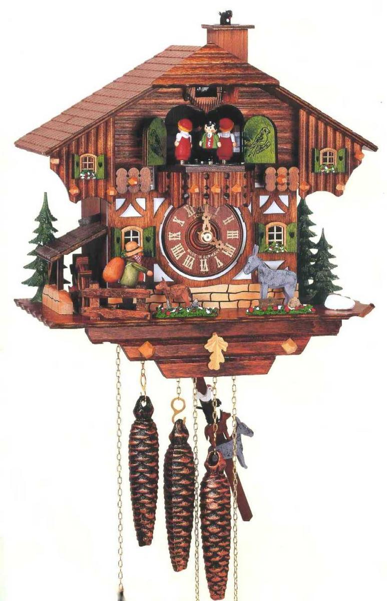 アルトン・シュナイダー製カッコー時計(はと時計)MT1100/9W 1日巻モデル カッコー時計 鳩時計 ハト時計 掛け時計
