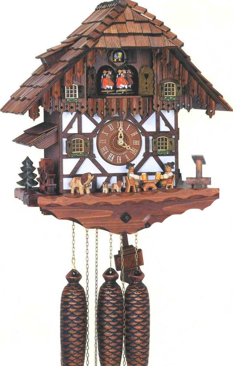 アルトン・シュナイダー製カッコー時計(はと時計)8TMT 483/9 8日巻モデル カッコー時計 鳩時計 ハト時計 掛け時計