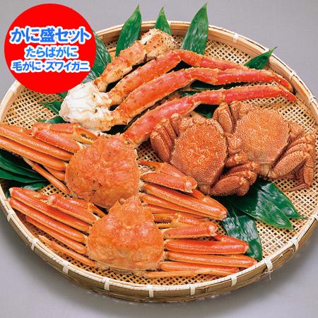 【かに たらば ズワイ 毛ガニ】 蟹セット 3大蟹 豪華かに盛りセット 価格 16000円