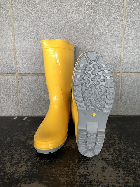 耐油長靴の定番品 安心の日本製 限定特価 ハイピジョン耐油長靴 イエロー 日本製 商店
