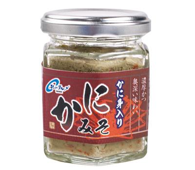 卸直営 北海道伝統の味 かにみそ 90g 激安 激安特価 送料無料 瓶入