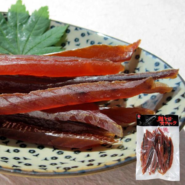 商舗 北海道産 食べやすいスティック状の鮭とば 鮭とばスティック111g×10袋 大量購入割引 江戸屋 マート 酒の肴 鮭トバ 珍味 おつまみ