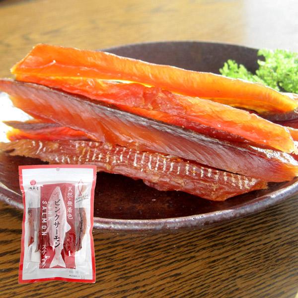脂ののった鱒とば ピンクサーモンスティック 鱒とば 60g 江戸屋 おつまみ 鮭トバ 珍味 鮭とば 酒の肴 定番 待望