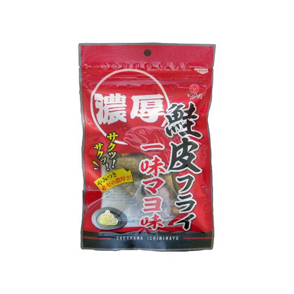 濃厚な味わいが病みつきに 鮭皮フライ一味マヨ味20g 江戸屋 通信販売 酒の肴 OUTLET SALE 珍味 おつまみ