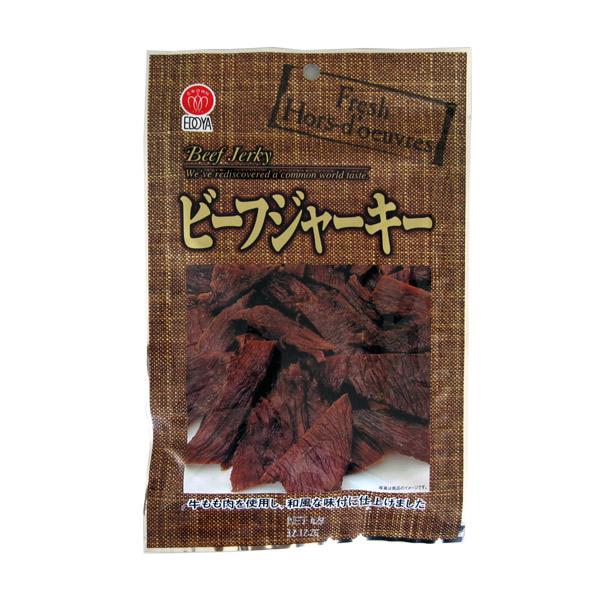 買物 牛もも肉を使った和風味のジャーキー ビーフジャーキー37g 選択 江戸屋 おつまみ 珍味 酒の肴