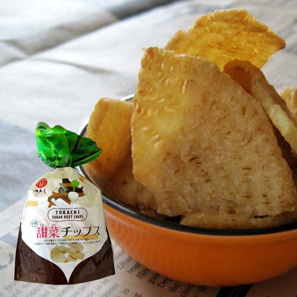 使い勝手の良い 北海道十勝産の甜菜にこだわりました 甜菜チップス39g 13g×3袋 江戸屋 全店販売中 酒の肴 珍味 おつまみ