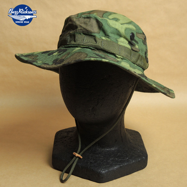 BUZZ RICKSON'S バズリクソンズ HAT CAMOUFLAGE TROPICAL COMBAT TYPE-2 ブーニーハット BR02585 東洋エンタープライズ