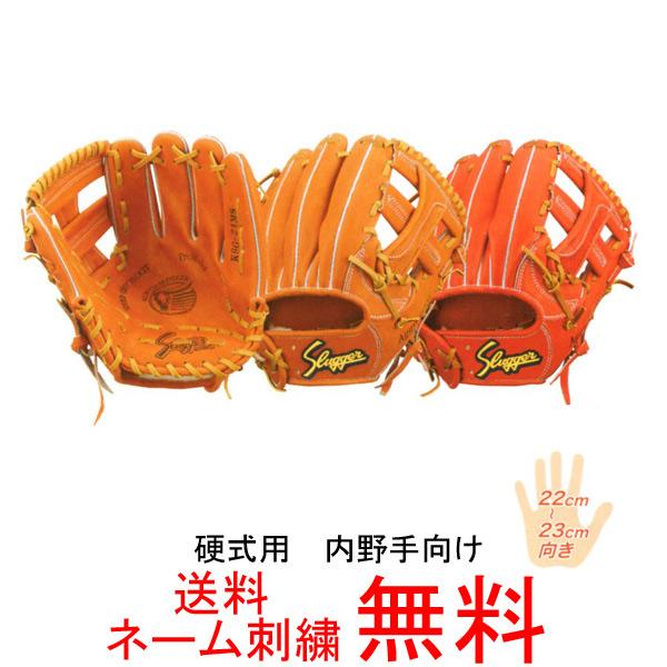 【ネーム刺繍無料】久保田スラッガー 硬式用グローブ 内野手向け KSG-24MS【送料無料/野球用品】