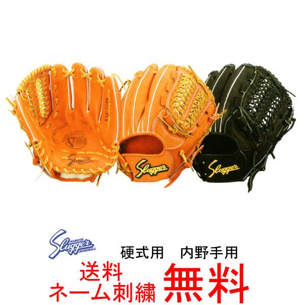 【ネーム刺繍無料】久保田スラッガー 硬式用グローブ 内野手用 KSG-22PS【送料無料/野球用品】