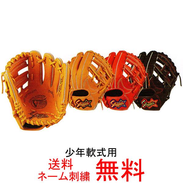 【ネーム刺繍無料】久保田スラッガー 少年軟式用グローブ KSN-J2V【送料無料/野球用品】