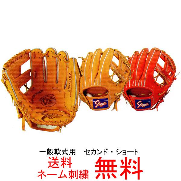 【ネーム刺繍無料】久保田スラッガー 一般軟式用グローブ KSN-24MU【送料無料/野球用品】