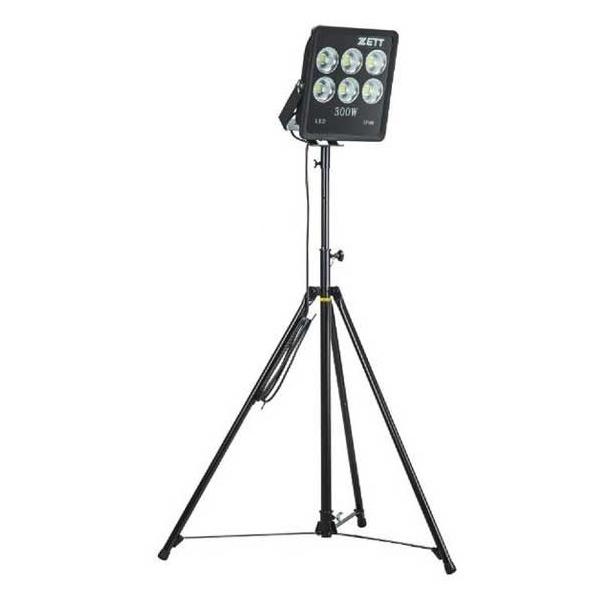 ZETT(ゼット) 高照度LED照明 スタンド付き BM300【送料無料/ナイター/電気】