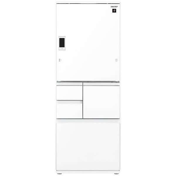 シャープ 冷凍冷蔵庫 SJ-WX50D-W ピュアホワイト 左右開き タイプ 冷凍冷蔵庫 5ドア 定格内容積:502L 設置込み 保証あり 大型冷蔵庫 新品