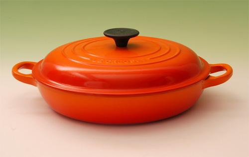 ルクルーゼ LE CREUSET ル クルーゼ ビュッフェキャセロール26cm(2532-26)<オレンジ>[正規日本仕様]( キッチンブランチ )