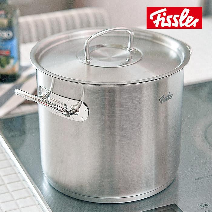 <直輸入>フィスラー Fissler ニュープロコレクション ストックポット 24cm(84-113-24)( キッチンブランチ )