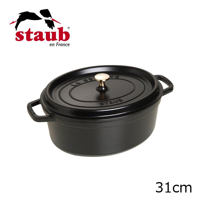 Staub/ストーブ/ストウブ オーバルシチューパン ピコ・ココット・オーバル 31cm (1103125)( キッチンブランチ )