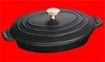 Staub/ストーブ/ストウブ オーバルプレート23cm(1332325)( キッチンブランチ )