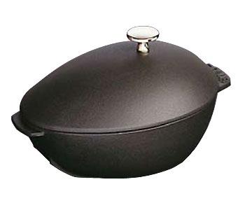Staub/ストウブ ムール貝鍋(1102523)<ブラック>( キッチンブランチ )