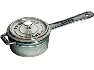 Staub/ストウブ ミニ ソースパン10(1241018)<グレー>( キッチンブランチ )
