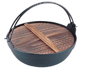 岩鋳南部鉄電磁用ふる里鍋30cm(21011) ( キッチンブランチ )