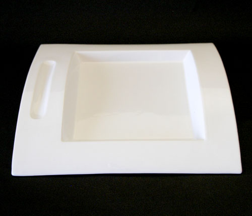 【送料無料】イタリア パンドラデザイン プレート コッポ PandoraDesign ホワイトセラミック 皿 お皿