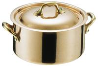 モービル 銅丸ココット24cm 《 マトファー 》 (06214) ( キッチンブランチ )