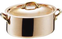 モービル 銅 オーバルココット24cm 《 マトファー 》 (06193) ( キッチンブランチ )