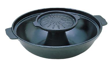 アルミ 焼きしゃぶ鍋 ( キッチンブランチ )