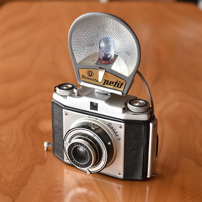 【北欧 アンティーク】ドイツ製 ヴィンテージ カメラ《 ビンテージ vintage ヴィンテージ 》