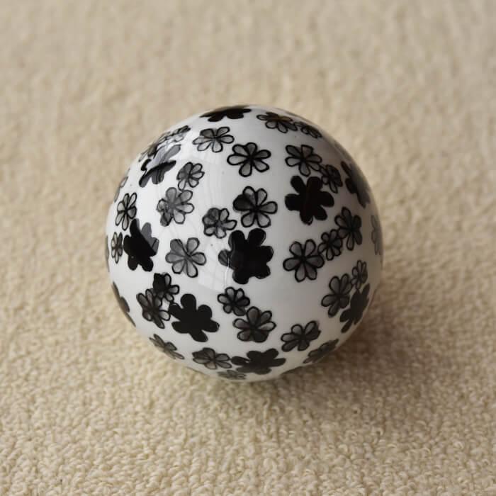 [北欧 アンティーク] オイパ・トイッカ ボールのオブジェ フラワー《 ビンテージ vintage ヴィンテージ 》