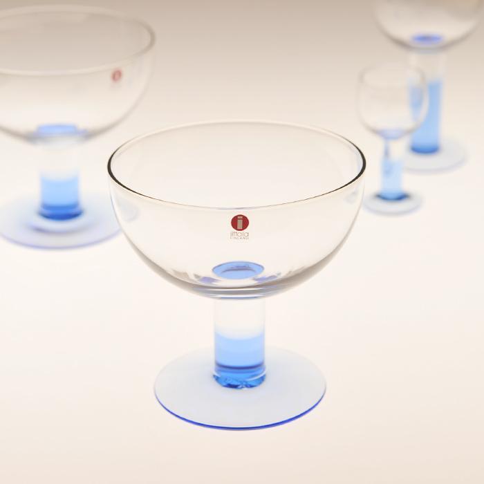 【 アンティーク 】 イッタラ モンド アイアスクリームカップ ブルー 《 ビンテージ vintage ヴィンテージ 》 【 iittala Mondo 】( キッチンブランチ )