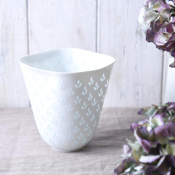 【 アンティーク 】 アラビア ライスポーセリン ベース 《 ビンテージ vintage ヴィンテージ 》 【 Arabia Rice Porcelain 】( キッチンブランチ )