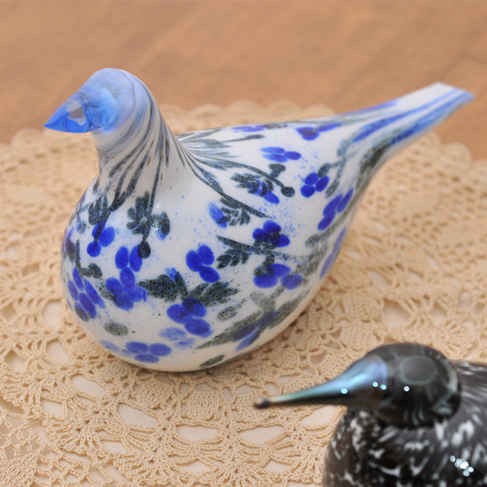 【 アンティーク 】 イッタラ バード バイ オイバ・トイッカ アニバーサリーバード < Dove > 《 ビンテージ vintage ヴィンテージ 》 【 iittala Birds by Oiva Toikka 】( キッチンブランチ )
