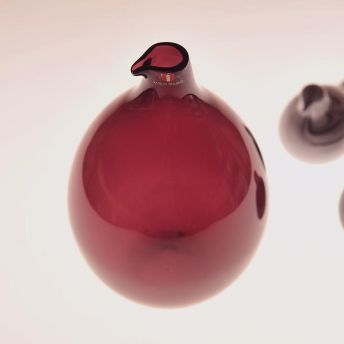 【 アンティーク 】 イッタラ i-401 ティモ・サルパネヴァ バードボトル パープル 《 ビンテージ vintage ヴィンテージ 》 【 iittala Timo Sarpaneva Bird Bottle 】( キッチンブランチ )