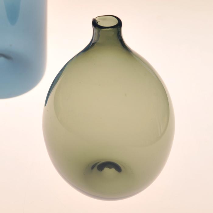 【 アンティーク 】 イッタラ i-401 ティモ・サルパネヴァ バードボトル オリーブ 《 ビンテージ vintage ヴィンテージ 》 【 iittala Timo Sarpaneva Bird Bottle 】( キッチンブランチ )