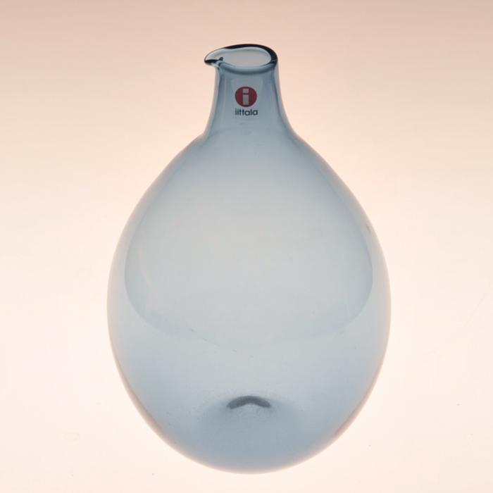 【 アンティーク 】 イッタラ i-401 ティモ・サルパネヴァ バードボトル ブルーグレー 《 ビンテージ vintage ヴィンテージ 》 【 iittala Timo Sarpaneva Bird Bottle 】( キッチンブランチ )