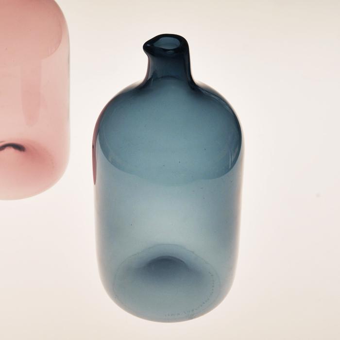 【 アンティーク 】 イッタラ i-400 ティモ・サルパネヴァ バードボトル ブルー 《 ビンテージ vintage ヴィンテージ 》 【 iittala Timo Sarpaneva Bird Bottle 】( キッチンブランチ )