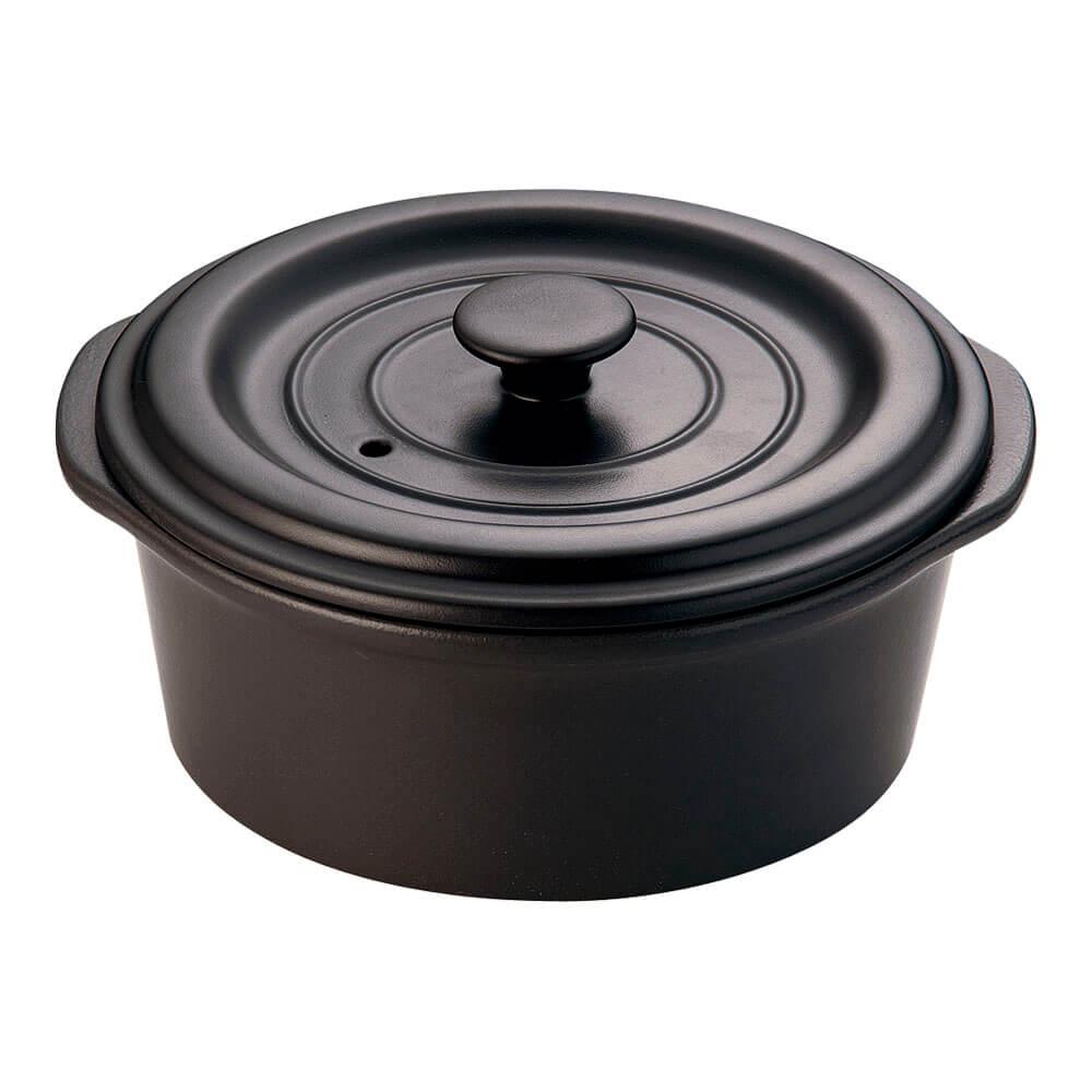 ミヤオ 土鍋 ココット L IH対応 オーブン対応 電子レンジ対応