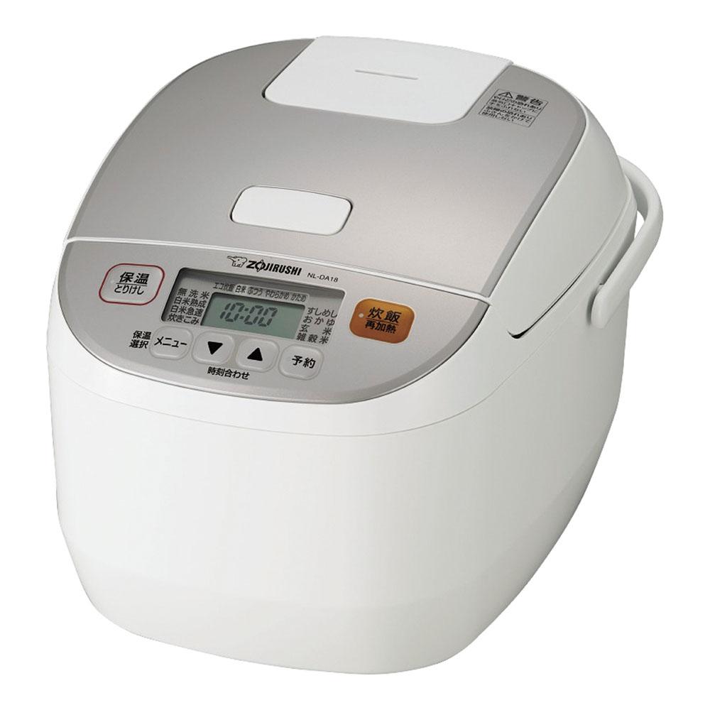 直営店 象印 販売期間 限定のお得なタイムセール マイコン炊飯ジャー 1升炊き NL-DA18 極め炊き