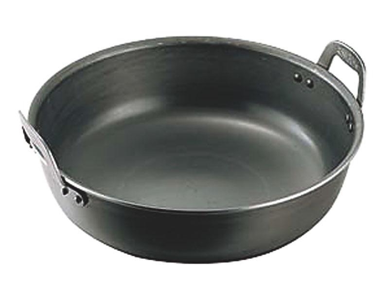 鉄プレス厚板揚鍋 48cm(22L)