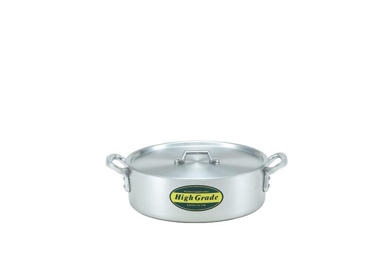 ハイグレード アルミ外輪鍋 目盛付 39cm(15L)
