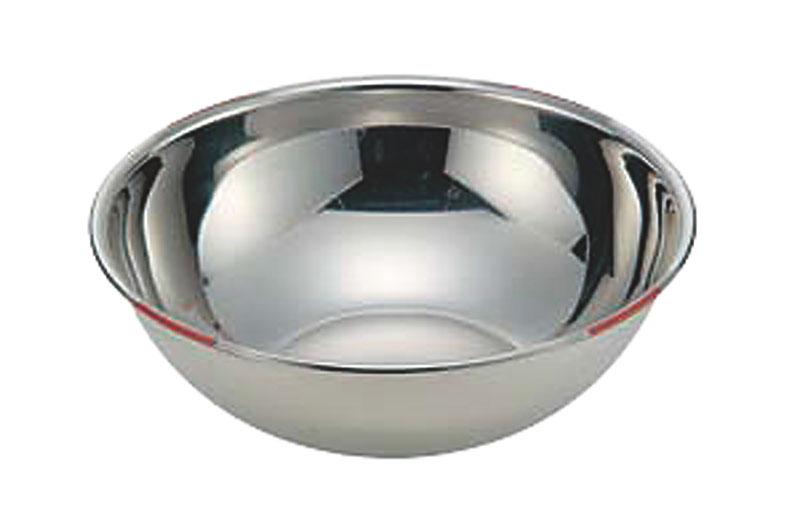 18-8色分ボール 茶 39cm(13.2L)