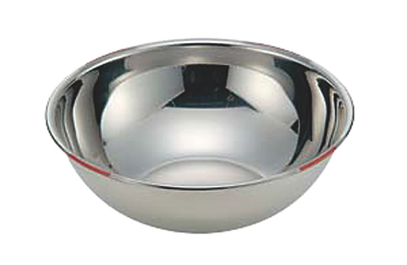 18-8色分ボール 茶 42cm(15.5L)
